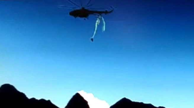 IAF helicopter Crash In Arunachal Video goes Viral