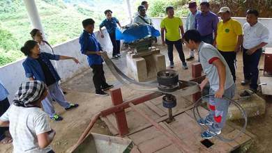 Photo of Science & Technology dept carried out inspection in Yomcha & Liromoba Circle