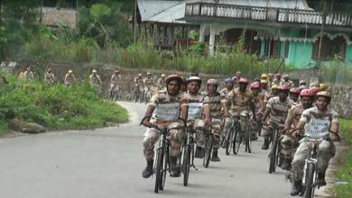 Aalo- ITBP Conducts Cycle Expedition