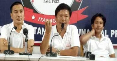 aapsu press conference on chakma hajong issue