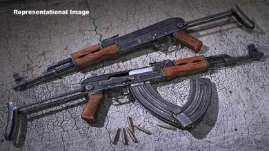 Arms and Ammunition recovered from Jungle in Mizoram