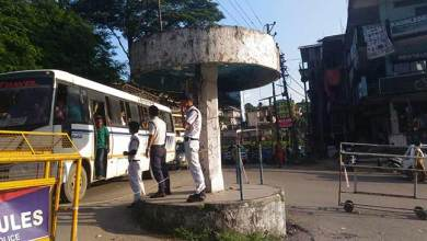Photo of Is Traffic Police waiting for a mishap at Bank Tinali