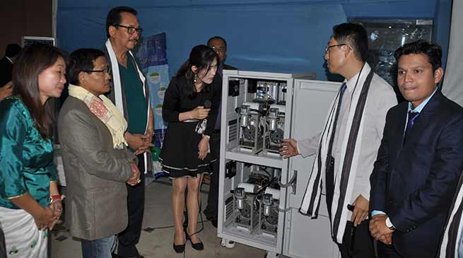 Chowna Mein launches Medical Oxygen Supply System at Waii International Hotel
