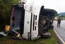 Bus carrying CRPF meet accident near Yupia, 9 injured