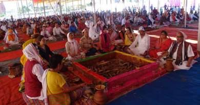 Vihangam Yog Sansthan programme concludes Hawan for world peace