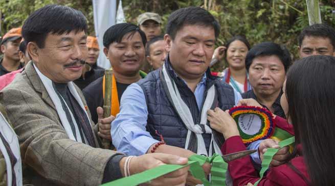 Construction of Yangte -Tali road will restart by November- Pema Khandu