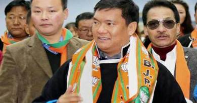 Chakma-Hajong issue is a mess created by Congress- Pema Khandu