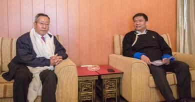 Pema Khandu meets with NEC Secretary, Ram Muivah