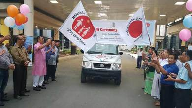 Big Boost in Health Sector with launching of 27 Ambulances under NHM
