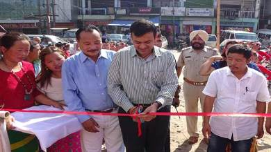 Photo of Prince Dhawan inaugurates Vending Zone at Naharlagun