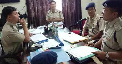 Papum Pare police review law and order situation