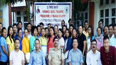 Photo of Arunachal Police organises Advanced Training Course on Human Rights