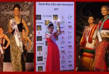Photo of Biri Santi conferred Mrs India International-2017