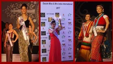 Biri Santi conferred Mrs India International-2017