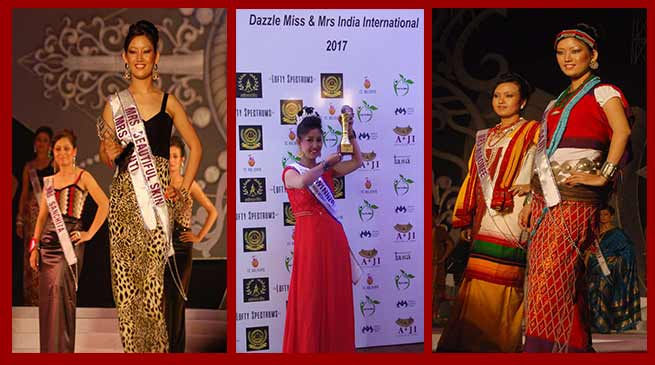 Biri Santi conferred Mrs India International-2017