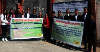 Bomdila Bar Association organises Legal Awareness campaign