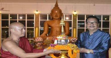 Namsai- Lord Buddha's relic put Golden Pagoda on world Buddhist tourism map
