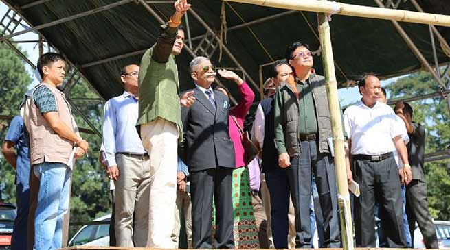 Itanagar-Governor visits Indira Gandhi Park