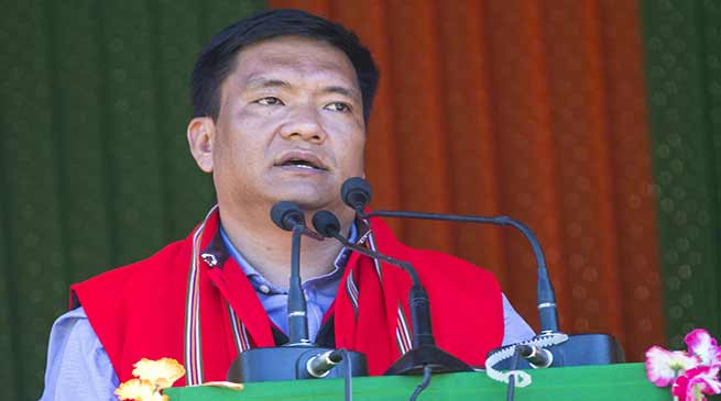 State govt will soon handover investigation of PDS case to CBI- CM Khandu