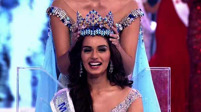 Manushi Chhillar crowned Miss World 2017