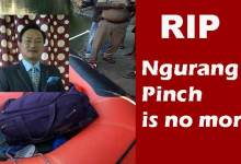 Former MLA Ngurang Pinch passes away