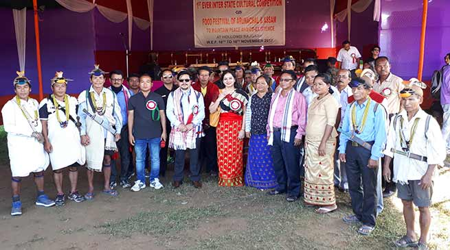 Taram inaugurates cultural cum food festival of Arunachal and Assam