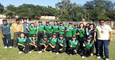 Women's Cricket- Arunachal team registered second consecutive win