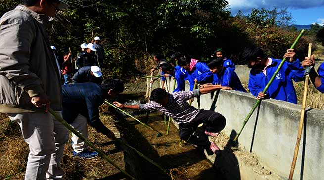 Swachh Bharat Abhiyan to clean up River Suil at Joram