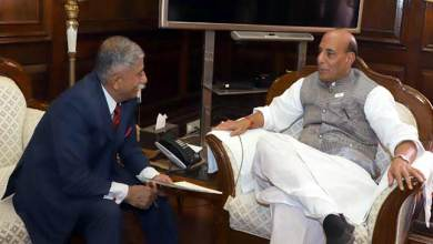 Photo of Governor Discusses Recruitment of Arunachal youth in Assam Rifle with Rajnath