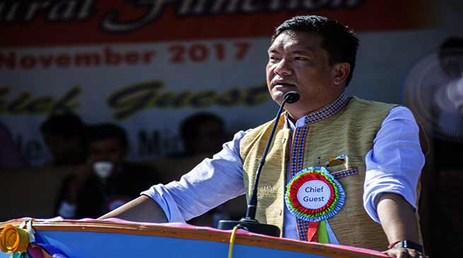 Khandu inaugurates 38 Annual Day Celebrations of DNG College