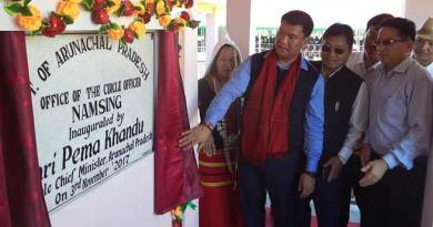 Khandu Sanction 5 Cr for development of East Siang