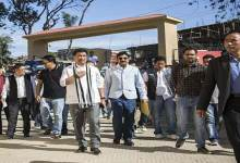 CM Khandu inspects Construction works of Convention Hall