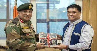 DG Assam Rifle meets with CM Pema Khandu, Discuss various issues
