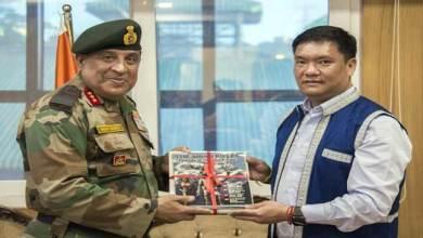 Photo of DG Assam Rifle meets with CM Pema Khandu, Discuss various issues