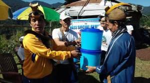 Lower Subansiri - Mass social service held in Pistana Circle