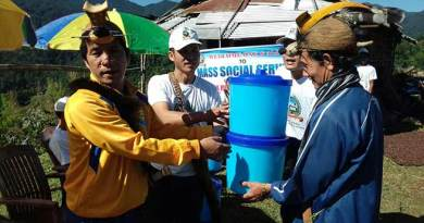 Lower Subansiri - Mass social service held in Pistana Circle
