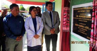 Tezu- Dr Mohesh Chai inaugurates Medicine Store Building at Tezu General Hospital