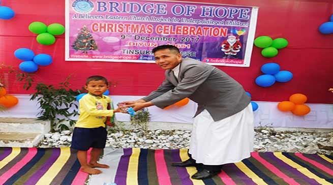 """Bridge of Hope"" celebrates advent Christmas"