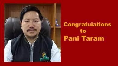 "Photo of Pani Taram selected for ""Adarsh Yuva Vidhyak Puraskar ""Award"