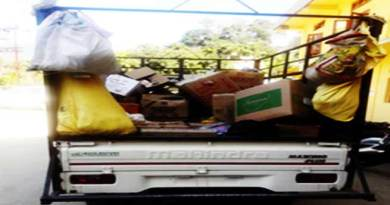 Itanagar- District Administration seizes IMFL items