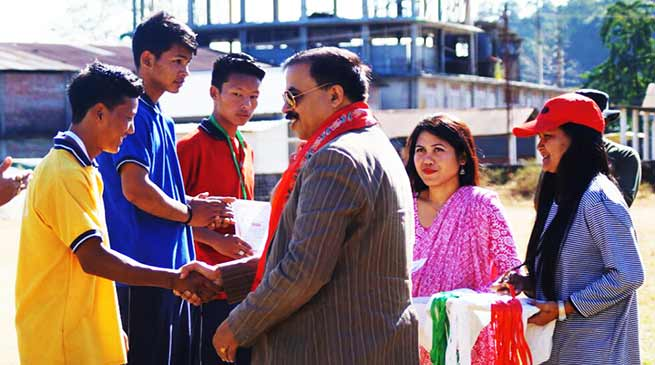 Bhalukpong:  Sports meet of Navjyoti English School begins