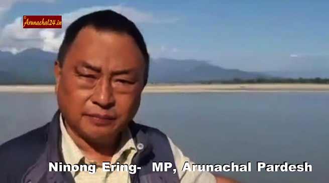 WATCH- Ninong Ering's Video on Siang River goes Viral