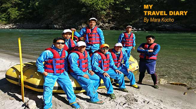 White Water Rafting along Kameng River by Rang Adventurous Team
