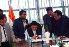 Arunachal- Libang discusses road project with Highway officials