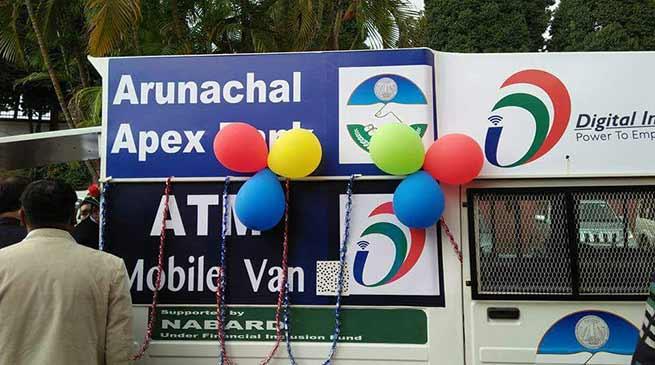 Arunachal Apex Bank launches ATM Van