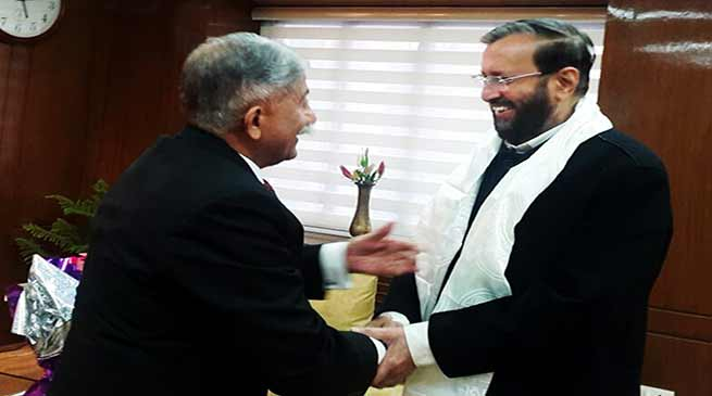 HRD Minister assures Guv to Strengthen Higher Education System in Arunachal