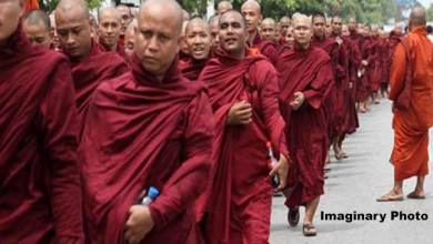 India allows 1300 hundred Buddhist refugees to enter Mizoram from Myanmar
