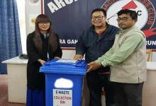 Itanagar; e-waste collection facility in Arunachal Press Club