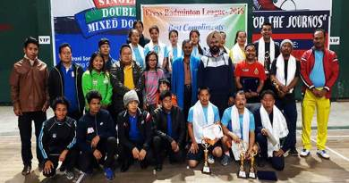 Itanagar: 2nd Press Badminton league-2018 concludes