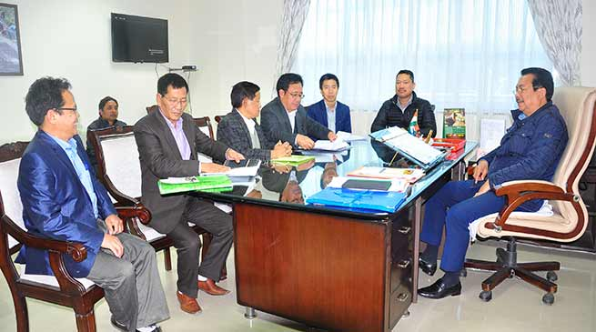 Arunachal: Chowna Mein reviews modernisation of drug de-addiction centres
